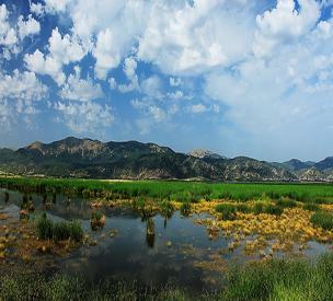 عکس دوم دریاچه زریبار یا زریوار