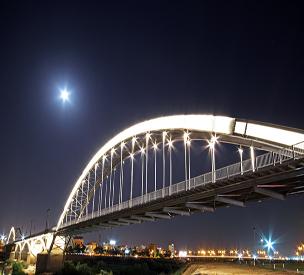 عکس دوم پل سفید اهواز