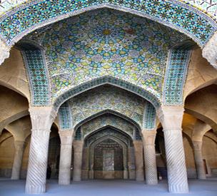 عکس دوم مسجد وکیل