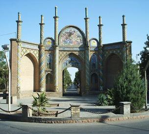 عکس دوم دروازه ارگ سمنان
