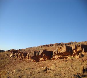 عکس دوم نقوش صخرهای ارغیان