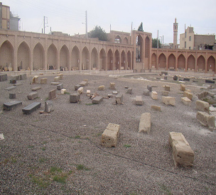 عکس دوم مقبره کشتهشدگان جنگ چالدران