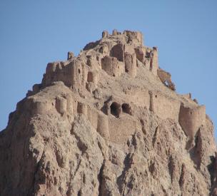 عکس دوم قلعه دختر ساوه