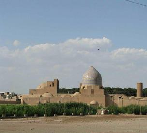 عکس دوم مسجد جامع ساوه