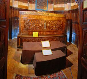 عکس دوم آرامگاه شیخ صفیالدین اردبیلی