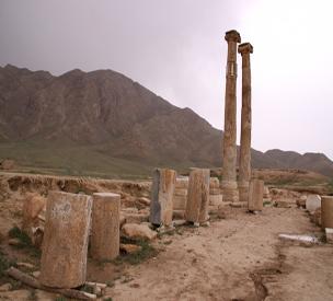 عکس دوم معبد خورهه