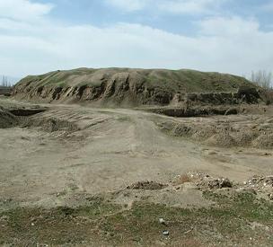 عکس دوم قلعه تپه میلاجرد