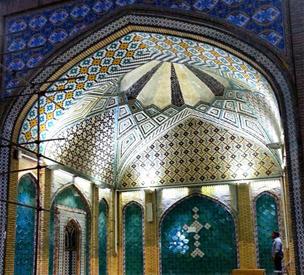 عکس دوم مسجد جامع زنجان
