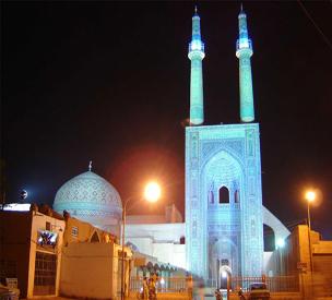 عکس دوم مسجد جامع یزد