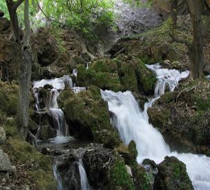 عکس دوم آبشار آتشگاه