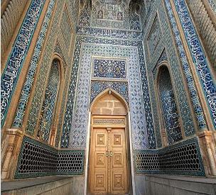 عکس دوم مسجد جامع یا مسجد مظفری