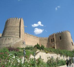عکس دوم قلعه فلک الافلاک
