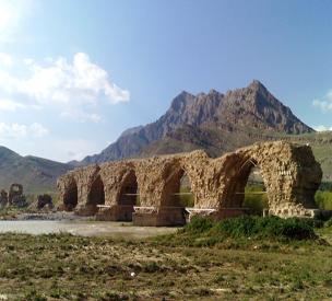 عکس دوم پل شکسته یا پل شاپوری