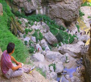 عکس دوم آبشار اخلمد