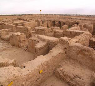 عکس دوم شهر باستانی ایوان کرخه