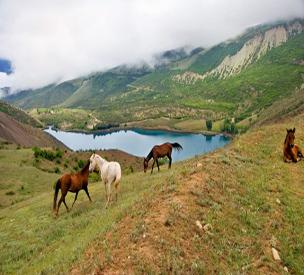 عکس دوم دریاچه ولشت