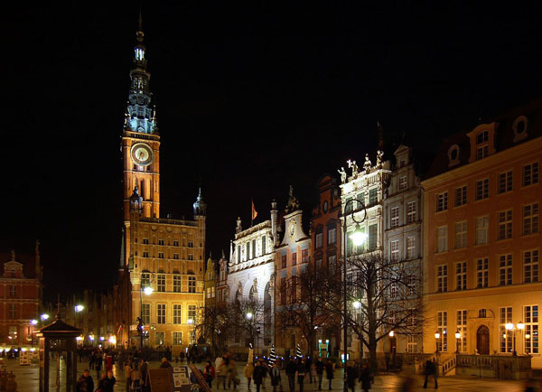 Long Market in Gdańsk