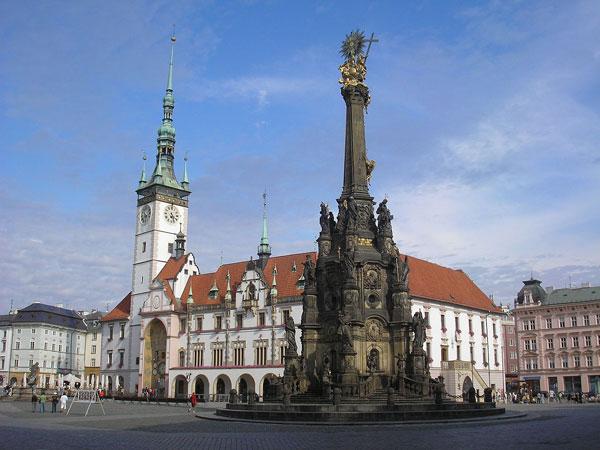 Hauptplatz in Olmütz