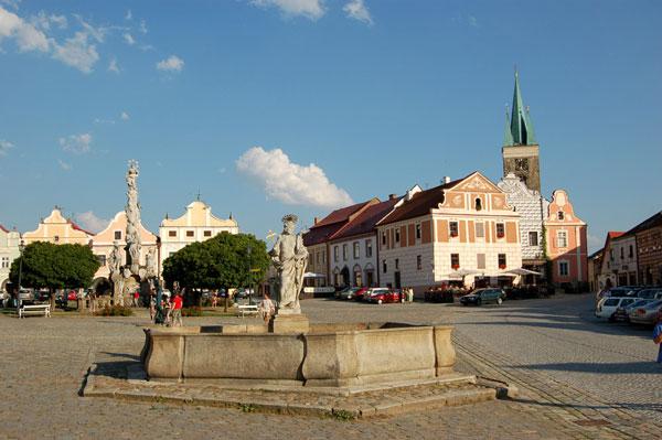 Jihovýchodní část náměstí