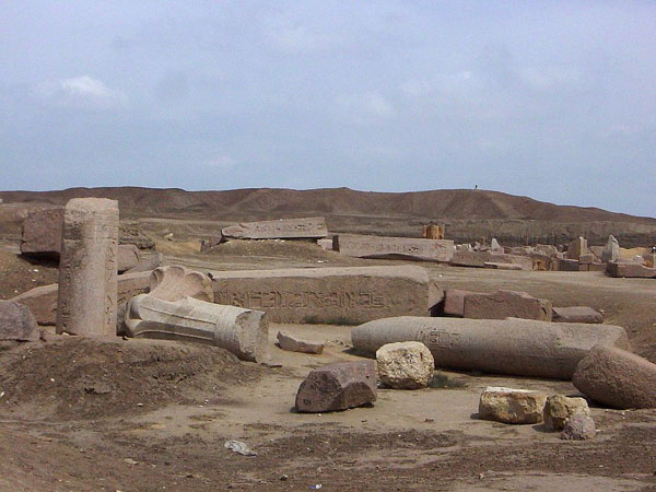 The ruins of Tanis