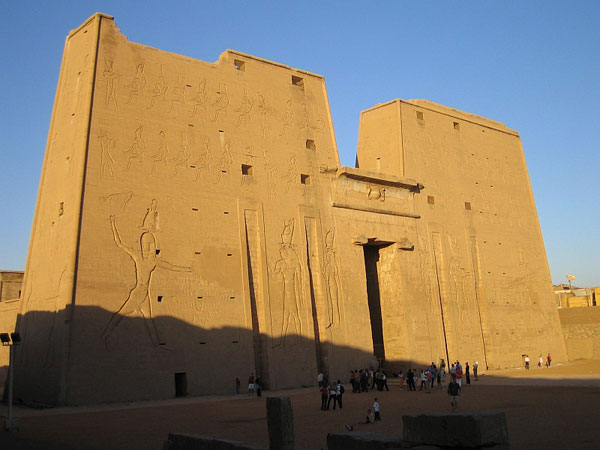the Edfu Temple