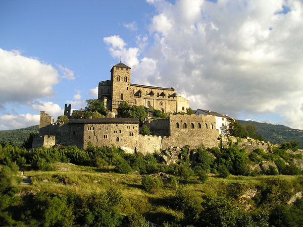 the Valere Castle