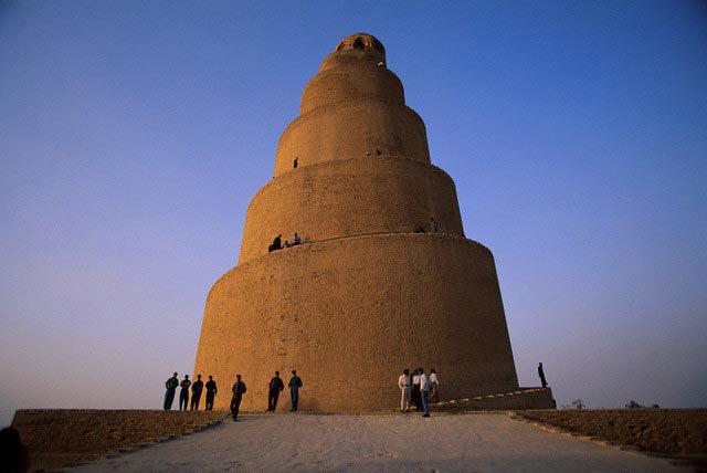 Ancient Spiral Minaret