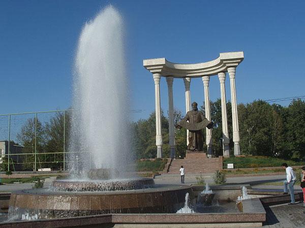 Statue of al Farghani