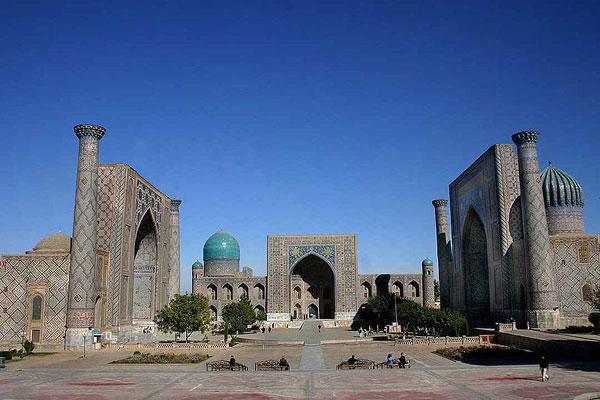 Registan mosques