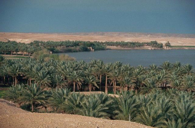 the Euphrates River