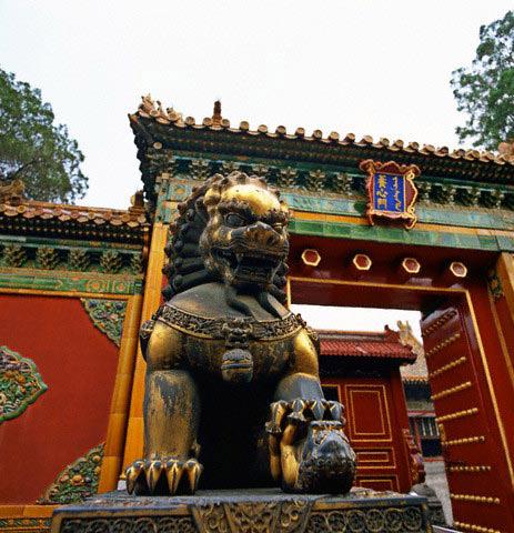 Bronze Lion Dog