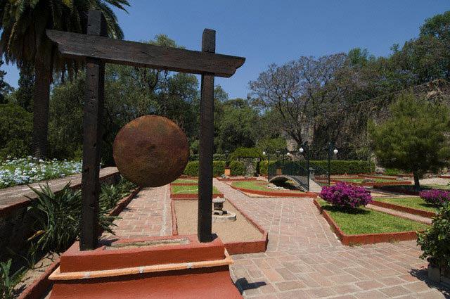 Gardens in Hacienda
