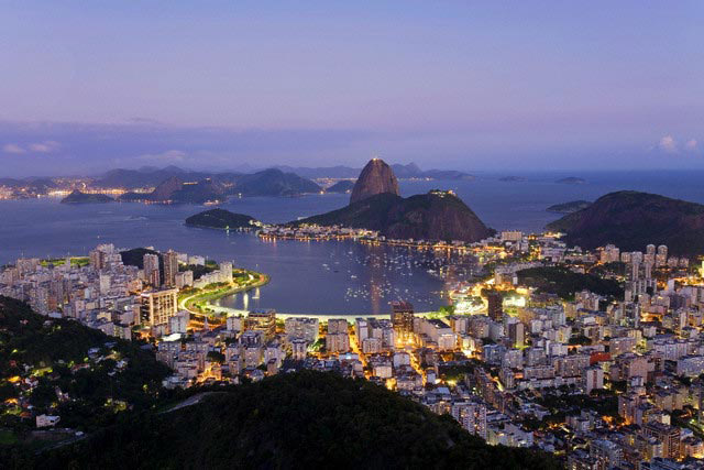 Botafogo and Sugarloaf Mountain