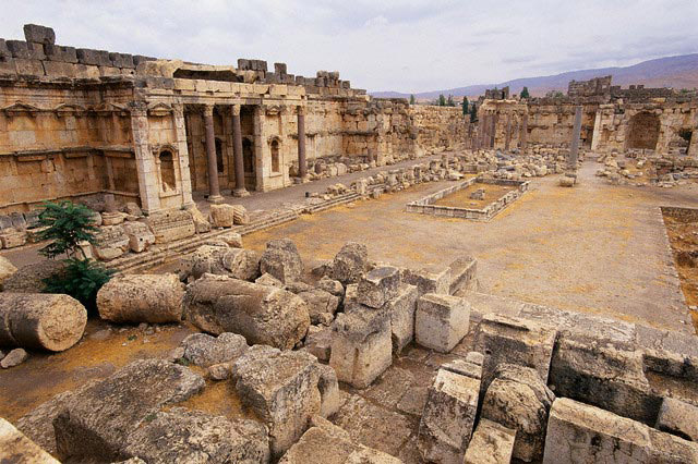 Courtyard Ruins
