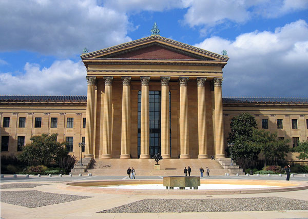the Philadelphia Museum