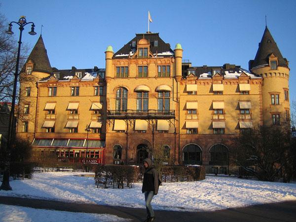 Grand Hotel in Lund , Sweden