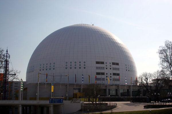 Ericsson Globe Arena in Joh