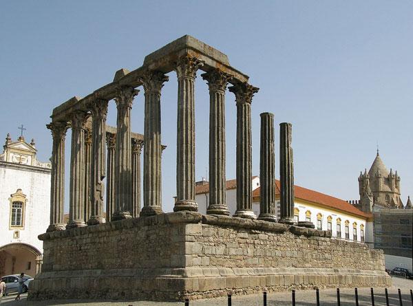 Roman Temple at Evora