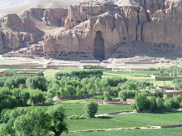 the Bamiyan Valley