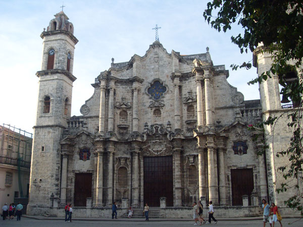 The Cathedral in Habana