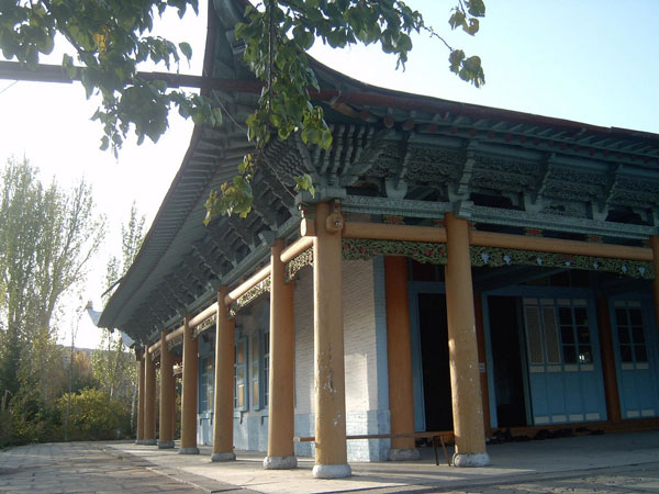 the Dungan Mosque