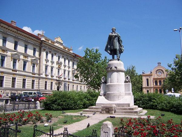 Hungary Pécs Kossuth-tér