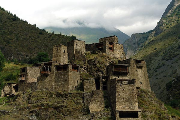 Shatili village