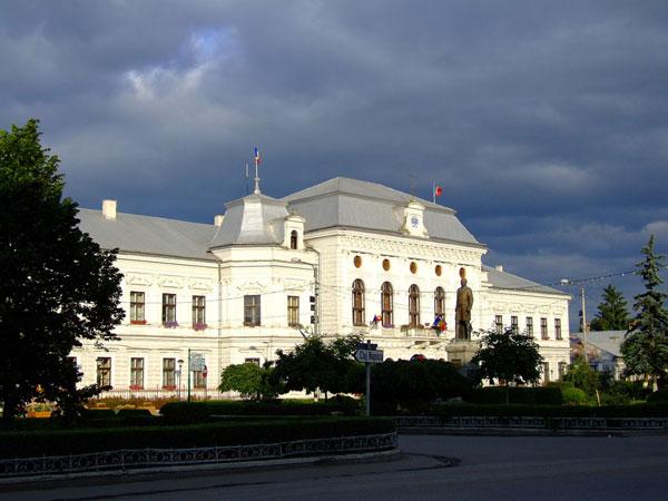 Das Rathaus von Turda