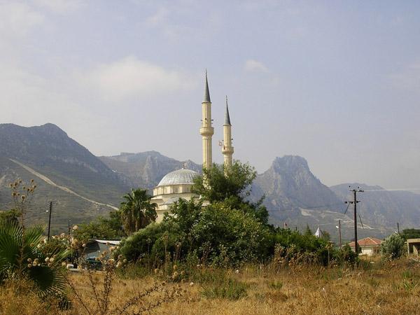 mosque in Kyrenia