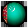 پرچم ترکمنستان