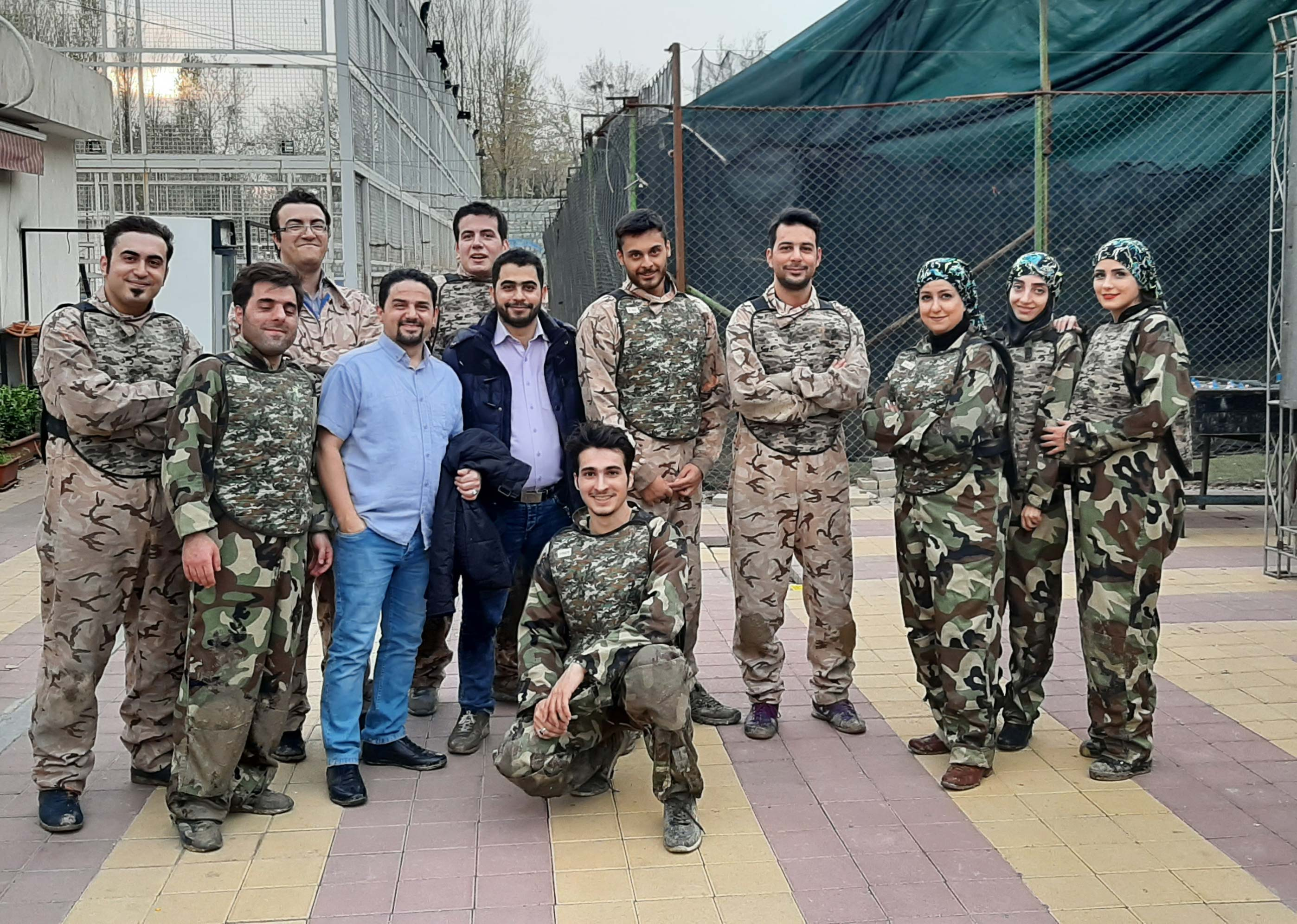 پینت بال به میزبانی ایران تکنولوژی-آذر 98