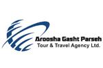 طراحی سایت شرکت خدمات مسافرت و جهانگردی آروشا گشت پارسه