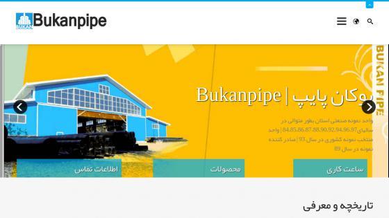 طراحی سایت بوکان پایپ
