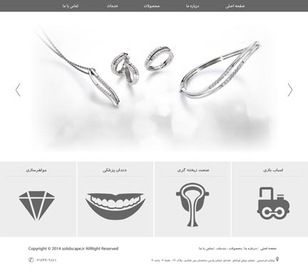 طراحی سایت سولید اسکیپ